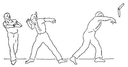 Как сделать бумеранг из бумаги фото 338
